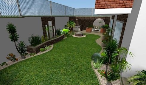 Jardines peque os trucos para ampliar espacios el for Jardines en espacios pequenos