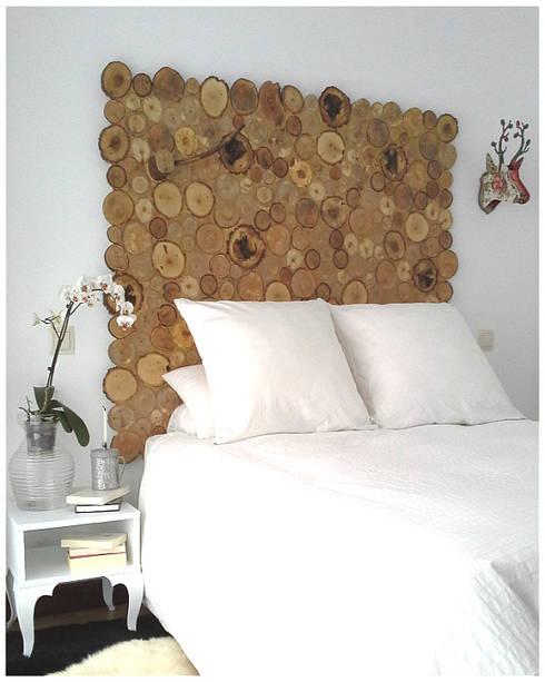 JP.4 ARTWOOD: rustik tarz tarz Yatak Odası