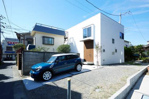外観-1: エトウゴウ建築設計室が手掛けた家です。