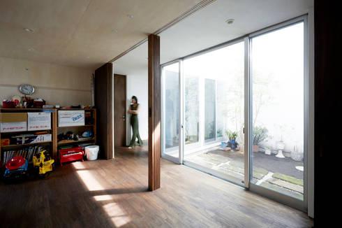 オープンにもクローズにもできる子供部屋2: エトウゴウ建築設計室が手掛けた子供部屋です。