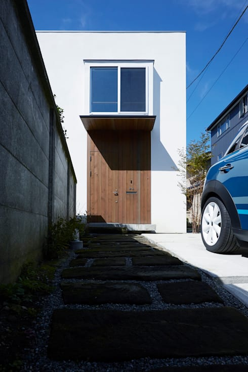 外観-2: エトウゴウ建築設計室が手掛けた家です。