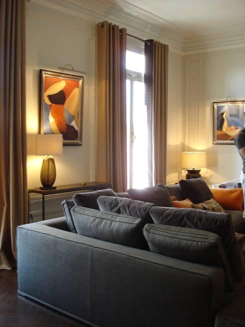 christine fath architecte d 39 int rieur cfai appartement haussmannien paris viii homify. Black Bedroom Furniture Sets. Home Design Ideas