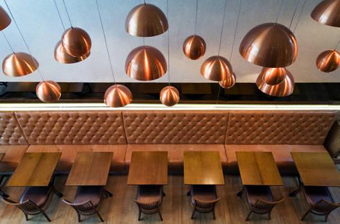 Max Bistrô: Bares e clubes  por Denise Barretto Arquitetura