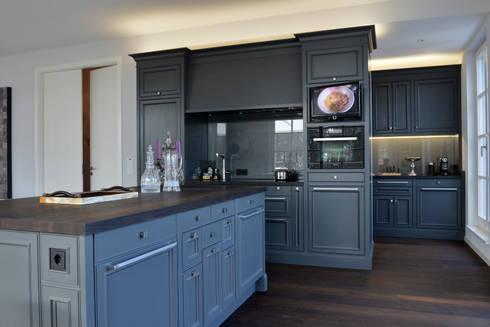 moderne landhausk che berlin von m belwerkstatt hamkens gbr homify. Black Bedroom Furniture Sets. Home Design Ideas