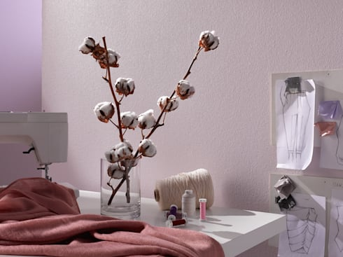 erfurt trendvlies nat rlich authentisch von erfurt sohn kg homify. Black Bedroom Furniture Sets. Home Design Ideas