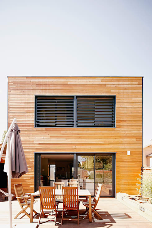 Houses by Cendrine Deville Jacquot, Architecte DPLG, A²B2D