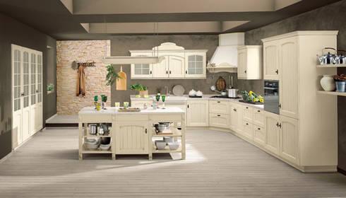 Italienische landhausküche edit · country kitchen by küchenstudio golla gmbh