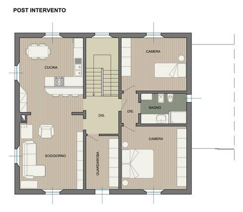 Via rimesse bologna di studio ethos project homify for Progetti di loft di stoccaggio garage