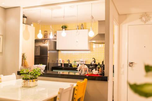 Edificio Jangada: Cozinhas modernas por Bloom Arquitetura e Design