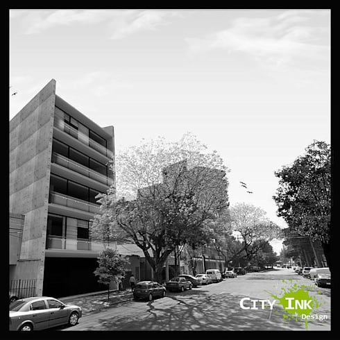 Torre Capulines:  de estilo  por City Ink Design