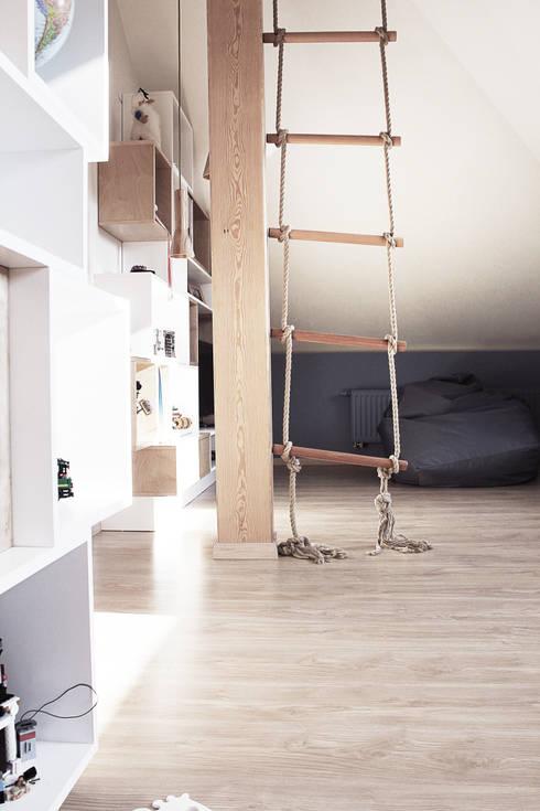 Projekt pokoju dla ucznia: styl , w kategorii Pokój dziecięcy zaprojektowany przez COI Pracownia Architektury Wnętrz