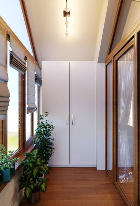 Patios & Decks by Студия дизайна Interior Design IDEAS