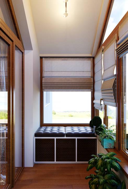Terrace by Студия дизайна Interior Design IDEAS