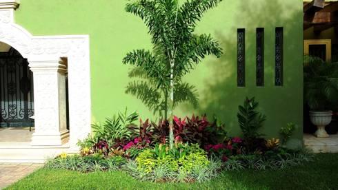 Casa aa 14 de ecoentorno paisajismo urbano homify for Paisajismo jardines modernos