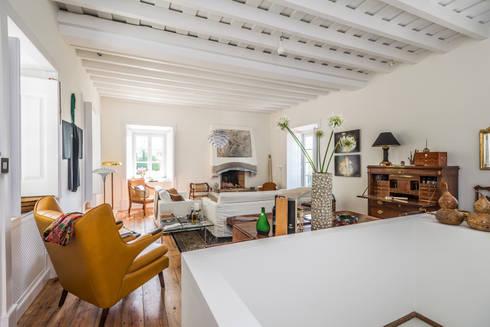 Renovação de Quinta em Sintra: Salas de estar clássicas por shfa