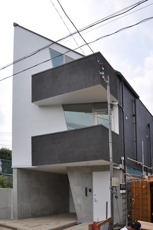 北東角: 清正崇建築設計スタジオが手掛けた家です。