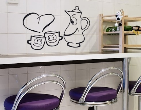 Wandtattoos Küche von Klebefieber.de - Apalis GmbH | homify