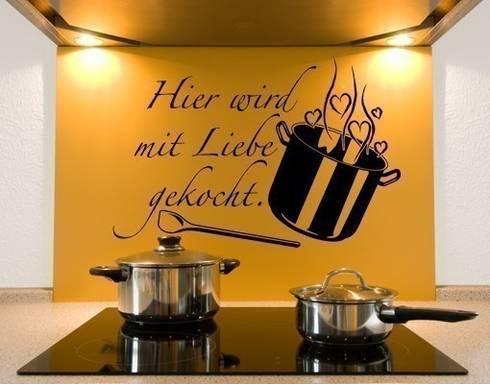 Klebefieber De wandtattoos küche by klebefieber de apalis gmbh homify