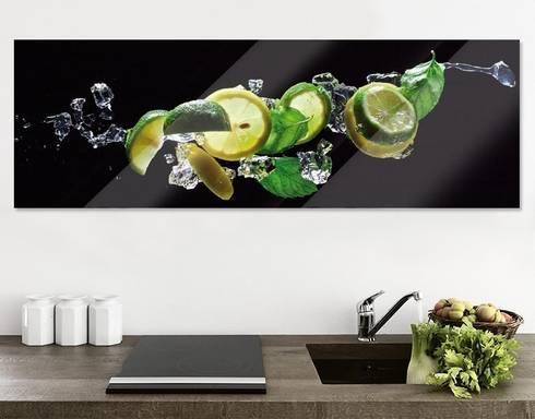 Glasbilder von apalis gmbh homify for Klebefieber kuche