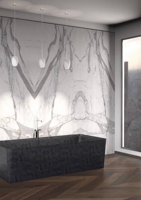 CONO Bath | Entity Bathroom Collection: Bagno in stile in stile Moderno di Marmi Serafini