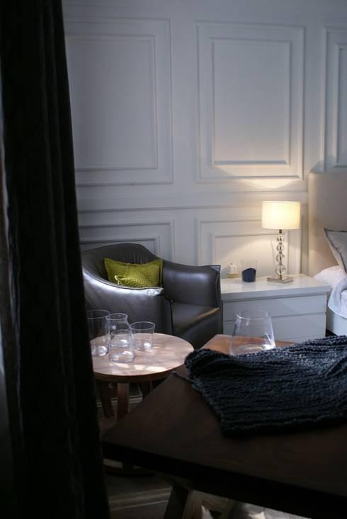 Elegancia en la Recámara Master: Recámaras de estilo clásico por Jacobs Interiorismo