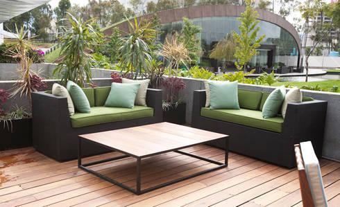 Lounge terraza: Terrazas de estilo  por mob