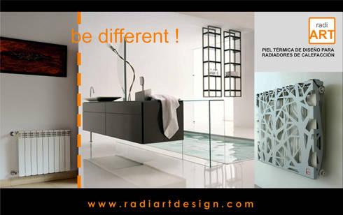 radiART modelo Trees: Livings de estilo moderno por Postigo design