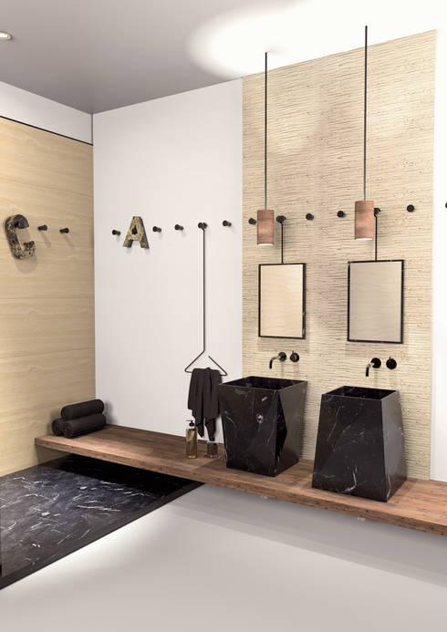 PUNTA medium | Entity Bathroom Collection: Bagno in stile  di Marmi Serafini