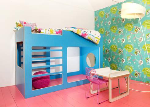 lalilu kinderhochbett von designteil homify. Black Bedroom Furniture Sets. Home Design Ideas