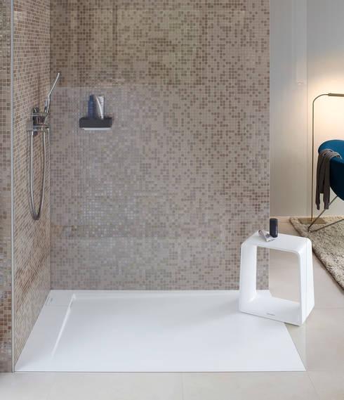 Plato de ducha P3 Comforts: Baños de estilo minimalista de Duravit España