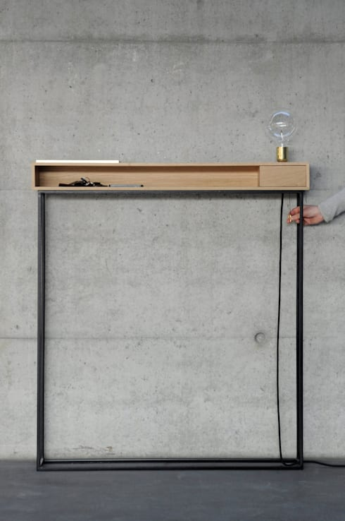 Ingresso, Corridoio & Scale in stile  di Lisa Merk Produktdesign