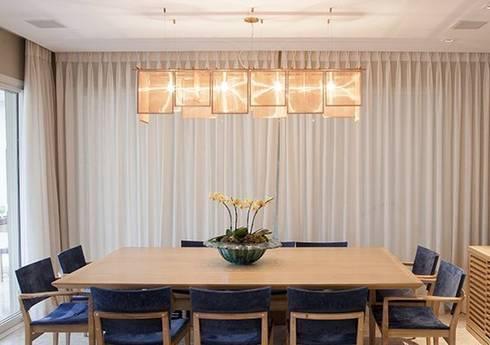 Apto. Vila Nova: Sala de jantar  por Maria Teresa Rodrigues Alves