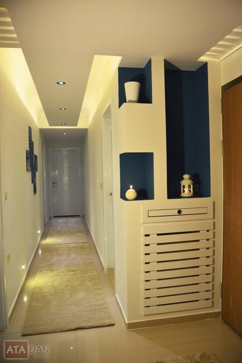 ROAS Mimarlık – Antre:  tarz Koridor, Hol & Merdivenler