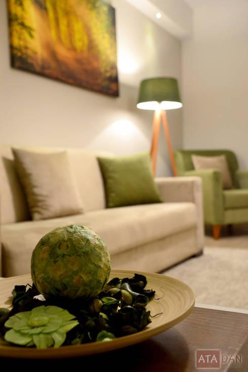 ROAS Mimarlık – Aksesuar Detayı - Misafir Odası:  tarz İç Dekorasyon