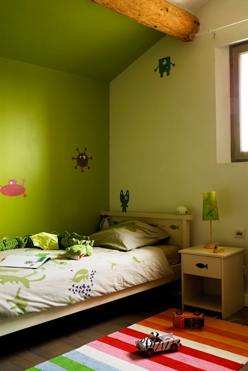 Chambres d'enfants: Chambre d'enfant de style de style eclectique par STEPHANIE MESSAGER