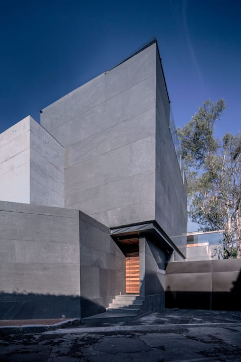 Casas de estilo  por grupoarquitectura