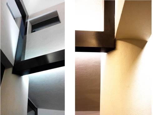 Casa GS: Salas de estilo moderno por Iluminarq
