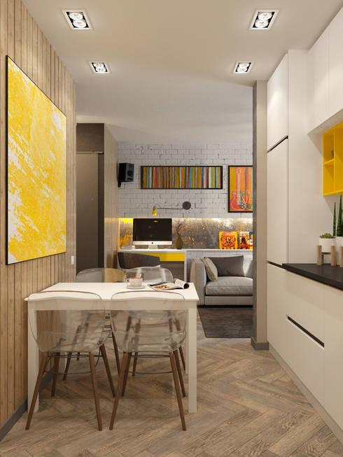 Cocinas de estilo  por WOWROOM design studio