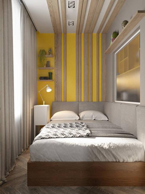 WOWROOM design studio:  tarz Yatak Odası
