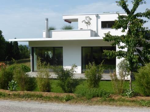 neubau einfamilienhaus adriaans schack von anb architekten ag homify. Black Bedroom Furniture Sets. Home Design Ideas