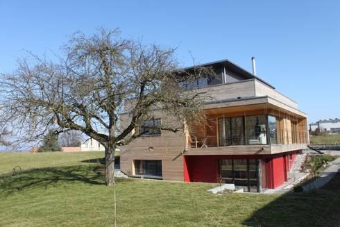 neubau einfamilienhaus als passivhaus von anb architekten ag homify. Black Bedroom Furniture Sets. Home Design Ideas