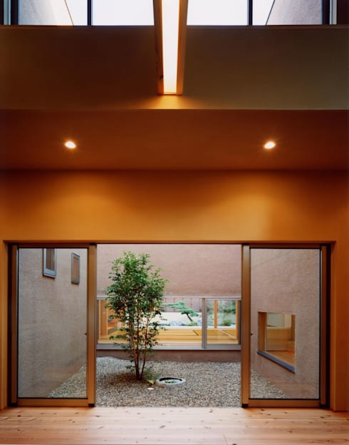 庭院 by 建築工房なかしま一級建築士事務所(Nakasima-Architects-Workshop)