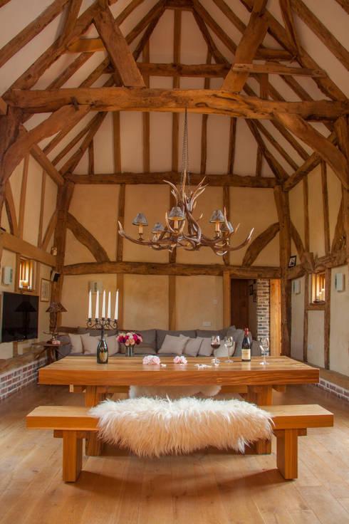Comedor de estilo  de Port Wood Furniture Studio