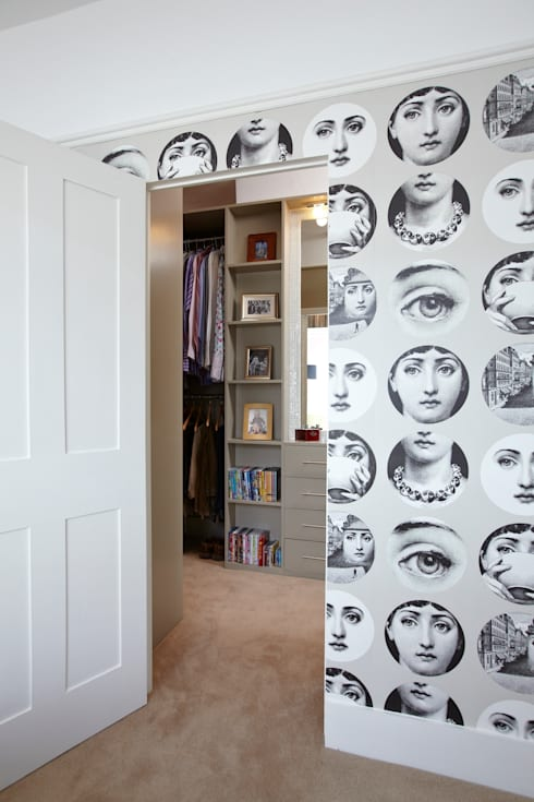 Victorian Townhouse:  Dressing room by Etons of Bath