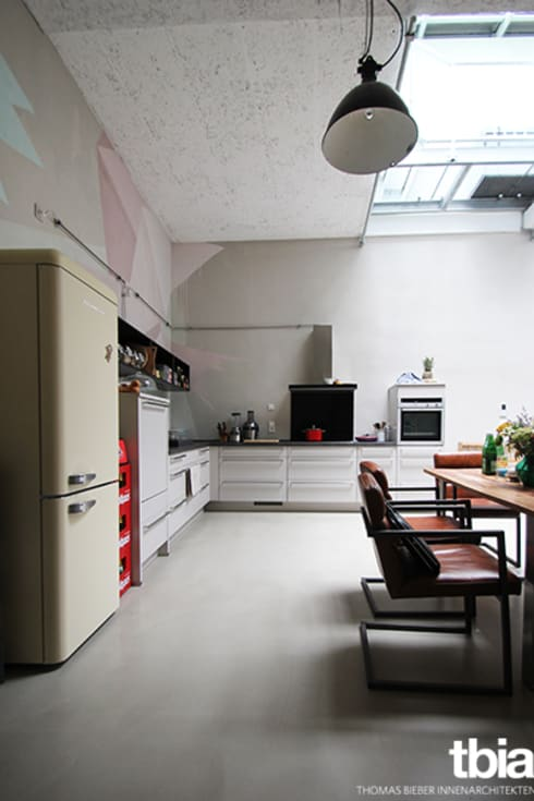 tbia - Thomas Bieber InnenArchitektenが手掛けたキッチン