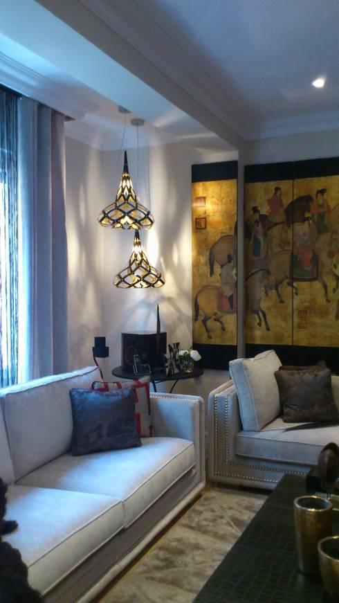 Iluminacion salon moderno con propia saln comedor with - Ideas iluminacion salon ...