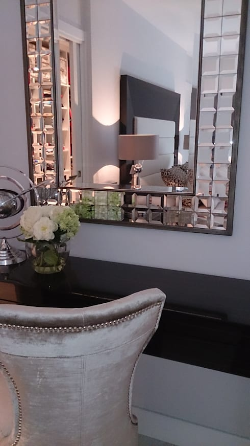 Dormitorios de estilo  por BONSAI S.L