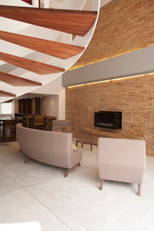 Sala: Salas de estilo moderno por Mob
