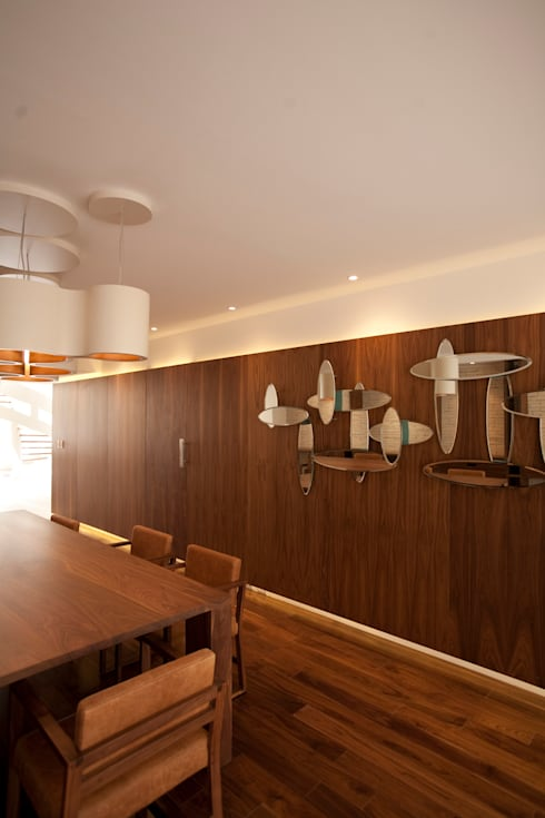 modern Dining room by Mob