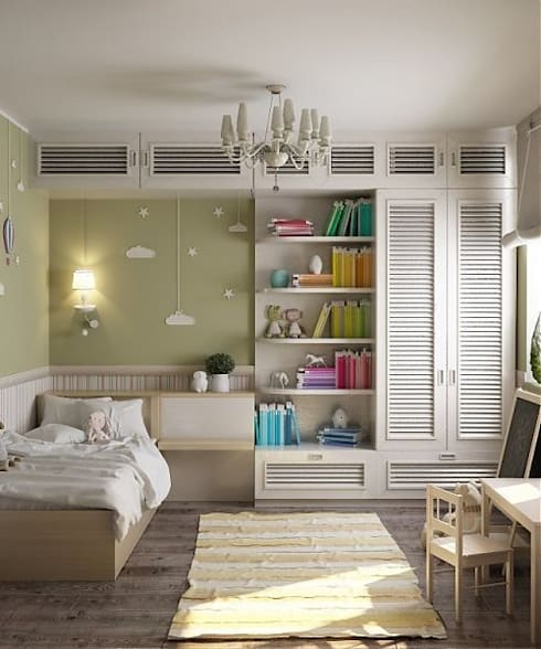 Дизайн в современном стиле 3к.кв: Детские комнаты в . Автор – MoRo